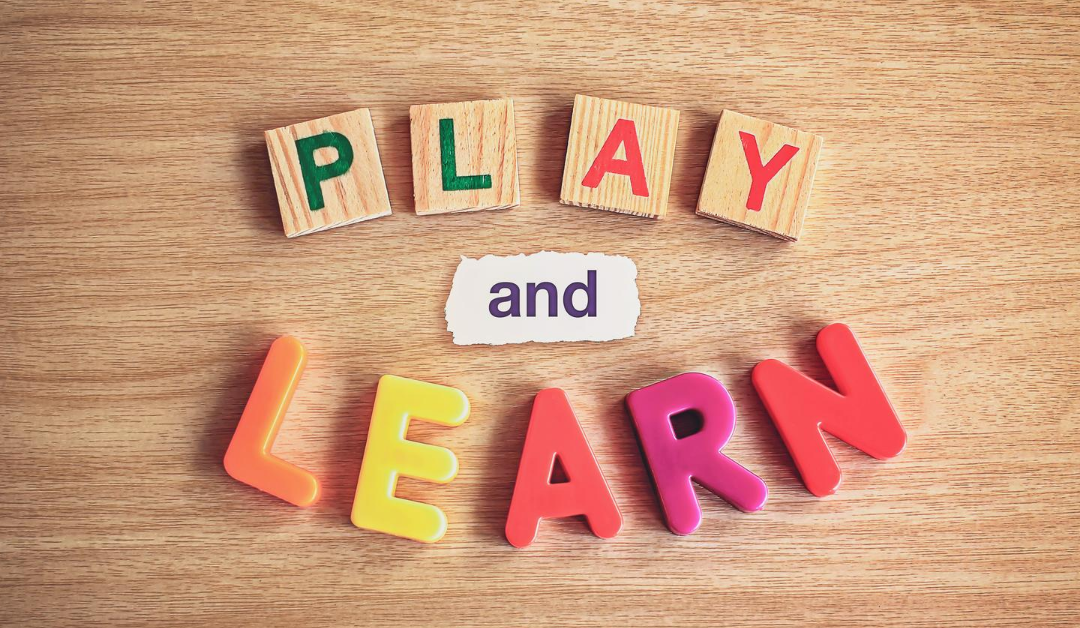 What children learn when they play…